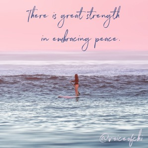strenth peace artquote
