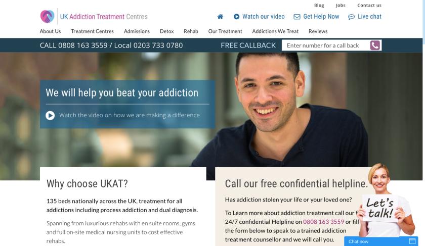 UK Addiction Treatment Centres